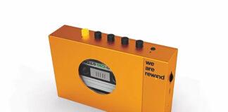 We Are Rewind Cassette Player