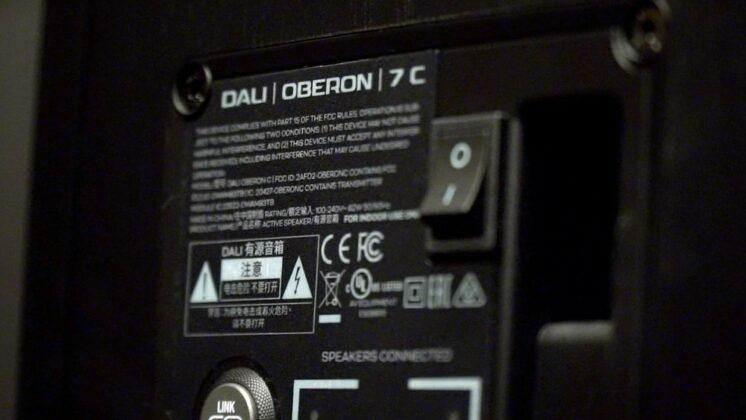 DALI OBERON 7C banc d'essai