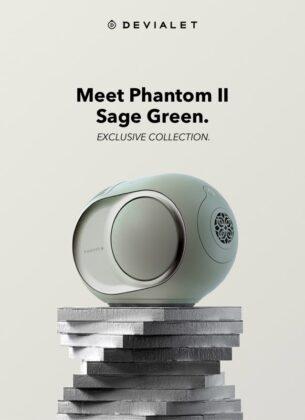 Devialet Phantom II Sage Green